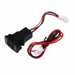 Dual Usb Port 12v 2 1a Power Socket Mobile Gps Cell Phone Car Charger For Honda