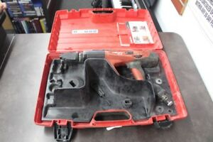 Hilti Dx460 Dx 460 Powder Actuated Nail Gun Fastening Tool W Case A lin011800