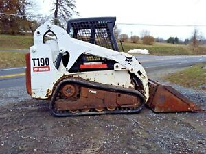 2007 Bobcat T190 Track Skid Steer Loader 2250 Hours Ctl
