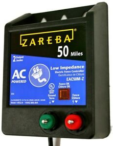 Zareba Electric Fence Charger Dog Fencing Energizer Ac Animal Control Shock