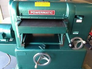 Powermatic 160 Planer 16 Byrd Shelix Spiral Head 5 Hp Either 1 Or 3 Phase