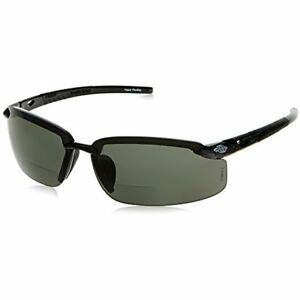 Crossfire Eyewear 2941415 1 5 Diopter Es5 Safety Glasses With Black Frame And