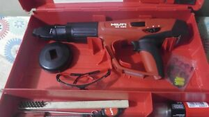 Hilti Dx 460 F 8 Powder Actuated Tool Kit Used