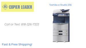 Toshiba E studio 256 Print scan fax low Meter finisher Included