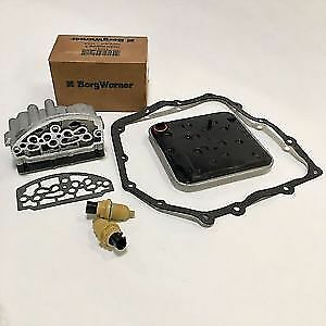 Chrysler A604 41te Transmission Solenoid Block Speed Sensors Filter Kit Combo