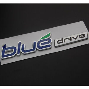 Auto Car Blue Drive Rear Side Decal Emblem Badge Sticker For 11 13 Sonata Hybrid