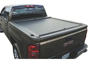 Roll n lock A series Tonneau Cover For 07 17 Tundra Std double Cab Sb 77 In