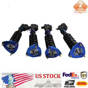 Coilovers Suspension Kit Shocks Fit For 90 93 Acura Integra 88 91 Honda Civic