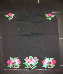 Chinese Minority People S Old Embroidery Apron