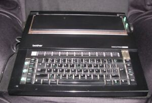 Brother Executron 65 Electronic Typewriter Tested Working Nice