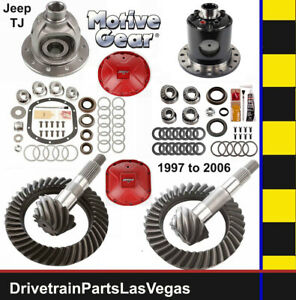Motive Dana 35 30 Gear Set Pkg W Master Kit 4 56 Ratio W Track Loc Posi Case