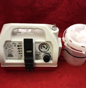 Allied Gomco Optivac G180 Portable Aspirator W canister See Listing