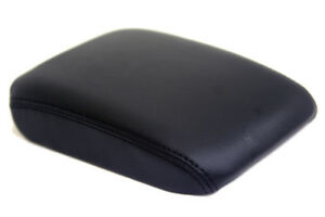 Vw Eos Center Console Armrest Real Leather Cover Black For 07 15