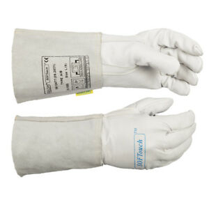 Weldas Softouch Tig Welding Gloves Calfskin Leather Very Soft All Sizes