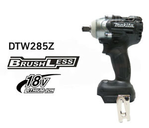 Makita Black Dtw285b 18v Cordless Brushless Impact Wrench Body Only bare Tool