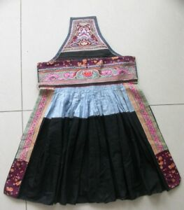 Chinese Miao People S Old Embroidery Apron