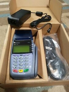 Verifone Omni 3730 Vx510 Credit Debit Card Payment Transaction Terminal Nib