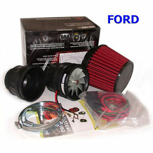 Electric Turbo Power Air Intake Supercharger Kit Ford