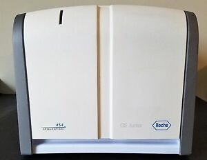 Roche Gs Junior 454 Benchtop Dna Sequencer Analyzer Powers Up