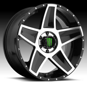 Monster Energy 648mb Machined Black 20x9 5x5 0mm 648mb 2097300
