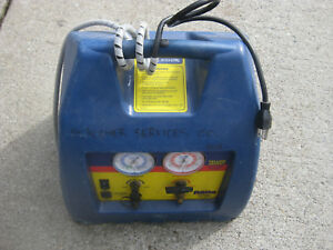 Yellow Jacket R60a Hermetric Refrigerant Recovery System Good Used Condition