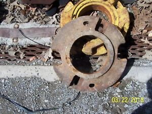 Jd John Deere Pair Of Wheel Weights D2628r