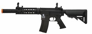 Lancer Tactical Sd Airsoft Rifle Toy AEG Black New $169.95