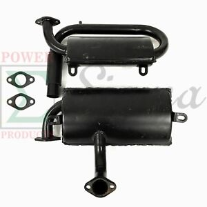 Lower upper Muffler For 186f 186fe 186fa 186fae 10hp Silent Diesel Generator