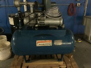 Busch Vacuum Systems Pump Just Reduced From 1500 To 1200