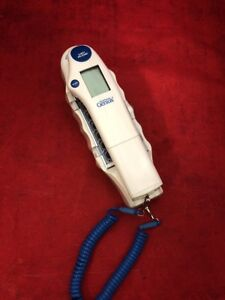 Firsttemp Genius Infrared Tympanic Thermometer Model 3000a W base Excellent