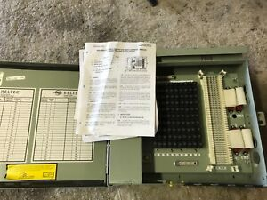 Marconi Reltec F019639 Building Entrance Protector Bep Terminal Cabinet 100 pair