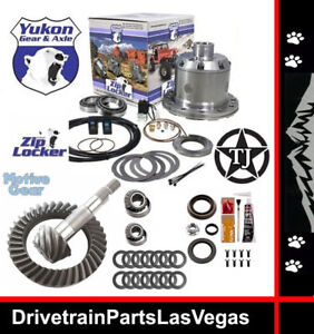 Jeep Dana 35 Yukon Air Zip Locker 27 Spline 4 88 Ring And Pinion Gear Pkg Sale