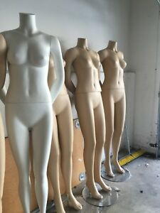 Female Brazilian Mannequins Full Body Headless Mannequin Without Metal Base