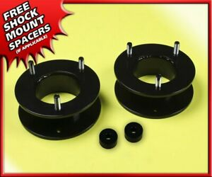 2 5 Inch Front Leveling Lift Kit Steel Spacers For 2004 2020 Ford F150 2wd 4wd