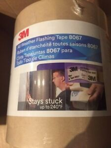 3m Flashing Tape 8067 All Weather 6 X 75 One Roll
