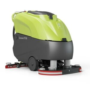 Ipc Eagle Ct105bt70b 240ch 28 Traction Drive Heavy Duty Automatic Scrubber With