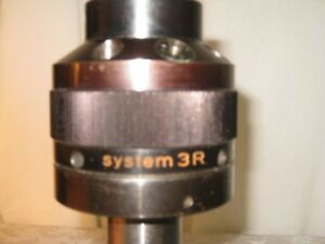 System 3r Index Electrode Tool Head adapter No 3r 321 2 5 edm