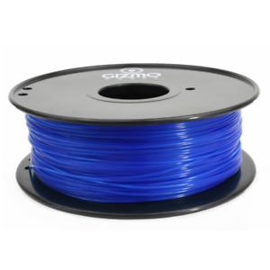 Gizmo Dorks 1 75mm Pla Filament 1kg 2 2lb For 3d Printers Translucent Blue