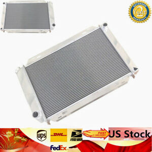 For 1979 1993 Ford Front Mustang Gt Lx 5 0l V8 302 Aluminum Racing Radiator