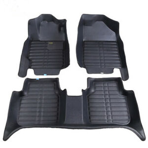 For 4 Door Honda Civic Car Floor Mats Carpet Auto Mat All Weather Waterproof