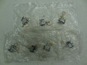 Lot Of 7 New Cutler Hammer Toggle Switches 2 Position Type 10a 25