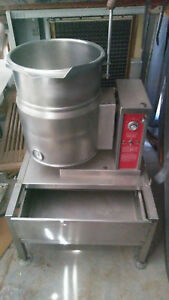 Crown Ec 10tw Steam jacketed Tilt Kettle 10 Gal 40 Qt Excellent Free Shipping