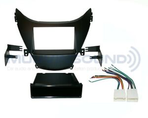Radio Stereo Installation Mounting Dash Kit Combo Wire Harness Hy4