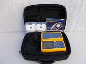 Fluke Networks Dtx 1800 Cable Tester Cable Analyzer