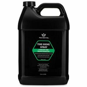 Tire Shine Dressing For Wet Slick Finish Wheels Spray Car Detailing 1 Gallon