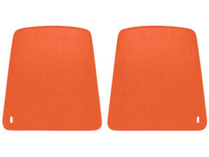1969 Camaro Bucket Seat Back Plastic Panels Hugger Orange Oer K1011 New