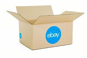 Ebay branded Boxes With Blue 2 color Logo 16 X 12 X 8