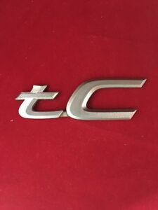 Scion Tc 4 Rear Oem Emblem Logo Badge 7917k