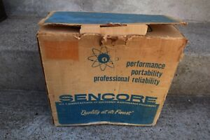 Vintage Nos Sencore Cr161 Cathode Ray Tube Tester Manual Rare
