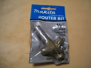 Makita Carbide Tipped Router Bit 733121 2a 1 2 Corner Rounding W 1 2 Shank
